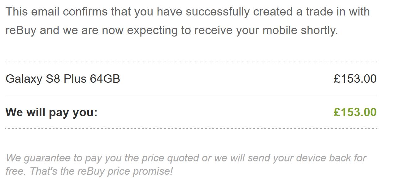 REBUY UK Best Used Mobile Buyers image.